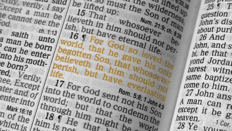 """Kuptimi i fjalës """"Kosmos"""" te Gjoni 3:16"""