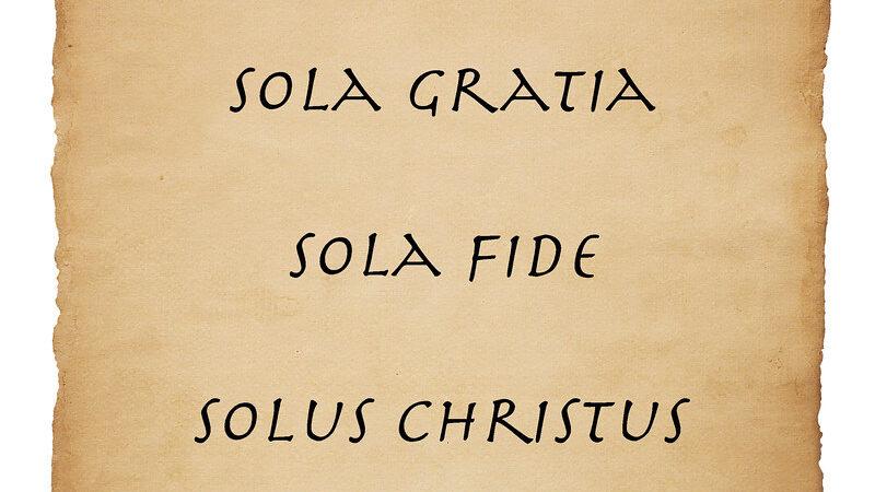 Pesë Solat e Reformacionit